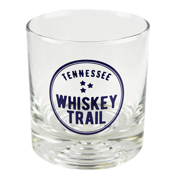 Tennessee Whiskey Trail Old Fashioned Whiskey Glass