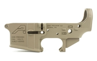 AR15 Stripped Lower Receiver, Special Edition: Freedom - FDE Cerakote