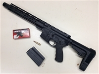 "6.8 SPC 11.25"" Pistol with SB Tactical Adjustable Pistol Stock"