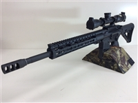 The 6.8 SPC ll offers improved firepower over a Standard 223/5.56 AR15 Chambered Rifle. This AR variant was originally developed for the US Army as a possible replacement for the aging 5.56 NATO cartridge.