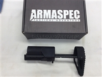"The Armaspec XPDW â""¢ Gen2 stock is an aluminum 5 position stock with hardened steel rods. It incorporates a low profile lightweight aluminum latch carrier with a steel lock engagement point. The stock can be rapidly deployed using the ratcheting system"