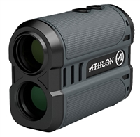 Take to the field with confidence in your next shot. The Athlon Talos laser rangefinder brings affordability to the average hunter. Accurately deer-sized game  from 6 to 300 yards and reflective targets out to 850 yards. Regardless of terrain