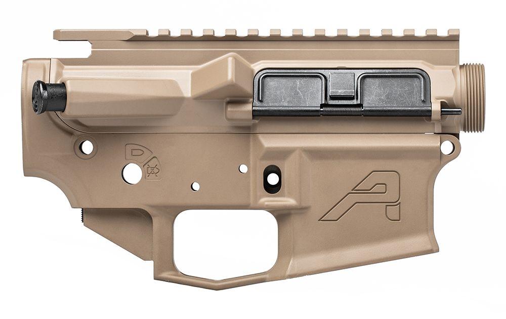 Aero Precision AR 15 M4E1 FDE Receiver Set