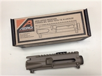 Aero Precision AR15 X15 Striped Upper Receiver offers High Quality at a reasonable price. Precision Machined to Mil-Spec from 7075 T6 aluminum forgings. Features M4 Feed Ramps. Can be used for Multiple Calibers on the AR15 Platform. Cerakote in FDE