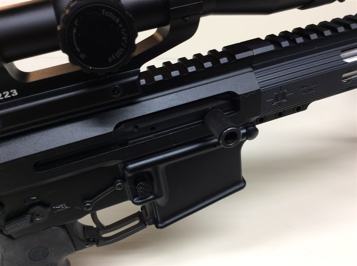 Billet Machined Side Charging Upper Receiver with Bolt Carrier Group  This  Upper Receiver will fit any Standard AR15 Lower Receiver  Billet Machined