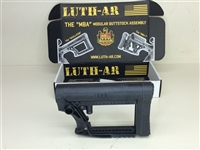 Luth-AR, MBA-4 Carbine Stock with Cheek Riser