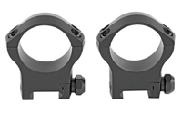 Warne XP 34mm Precision Scope Rings, High