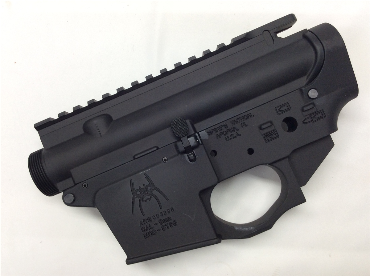 Spikes Tactical Stripped Lowers Are Made To The Highest Standards