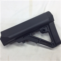 The UTG PRO Model 4 Combat Ops S1 Mil-Spec Butt Stock is a collapsible, AR/M4 style stock constructed of weather proof and rugged high impact polymer. This 6 position stock is designed for heavy duty operations and is made with the tightest tolerances
