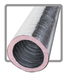 "6"" X 25' R6.0 Flex Duct w/ Raw Ends"