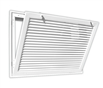 "Bar Type Return Air Filter Grille 14"" x 14"" (290)"