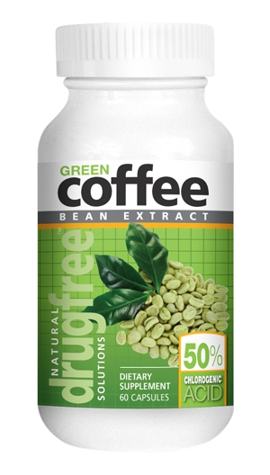 <b>Green Coffee Bean Extract</b> 60 Capsules