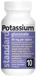 <b> Potassium Gluconate </b> 100 Tablets