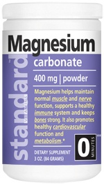 <b>Magnesium Carbonate</b> Powder 3 oz.
