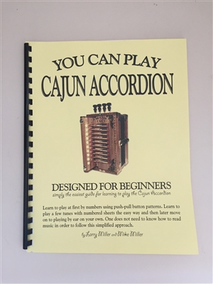 You Can Play Cajun Accordion Book