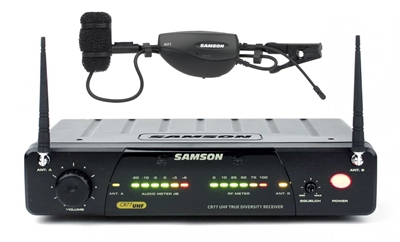Samson Accordion Wireless Mic System
