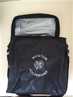 Toppers Ice Chest Cooler with Mouton Handmade Accordion Logo