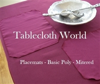 Basic Poly Placemats