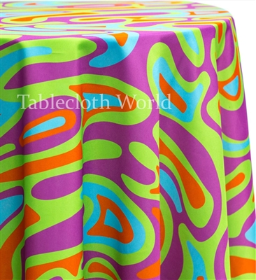 Beach Party Custom Print Tablecloths