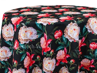 Carnations at Night Tablecloths