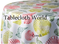 Conch Custom Print Tablecloths