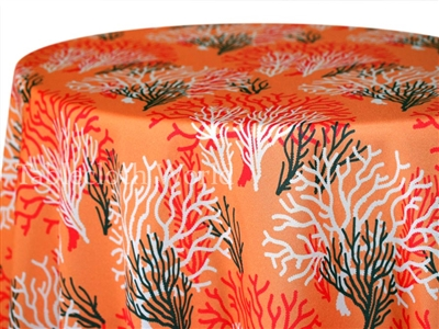Coral Reef Custom Print Tablecloths