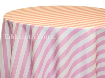 Pink Canopy Custom Print Tablecloths