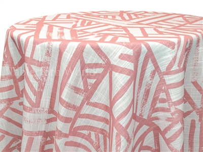 Kraal Dusty Rose Print Tablecloth