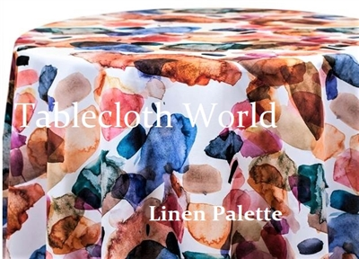 Linen Palette Custom Print Tablecloths