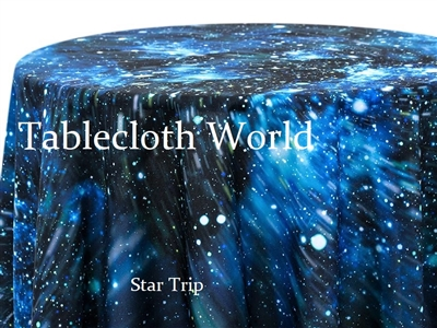 Star Trip Print Tablecloths