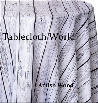 Amish Wood Custom Print Tablecloths