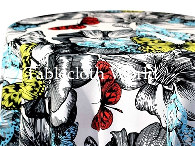 Butterfly Print Tablecloths