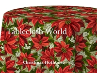 Christmas Hothouse Custom Print Tablecloths