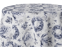 Christmas Toile Custom Print Tablecloths