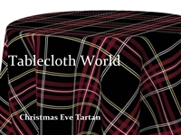 Christmas Eve Tartan Tablecloths