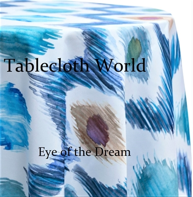 Eye of the Dream Custom Print Pattern Tablecloths