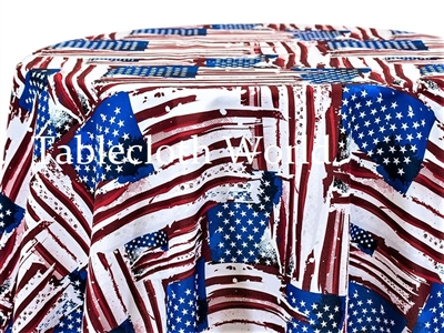 Flag Glorious Print Pattern Tablecloths