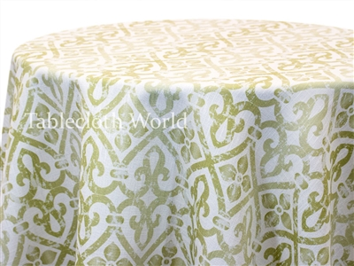Garocco Green Custom Print Tablecloths