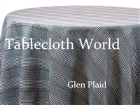 Glen Plaid Tablecloths