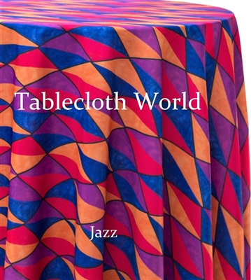 Jazz Custom Print Tablecloths
