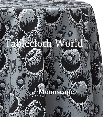 Moonscape Custom Print Tablecloths