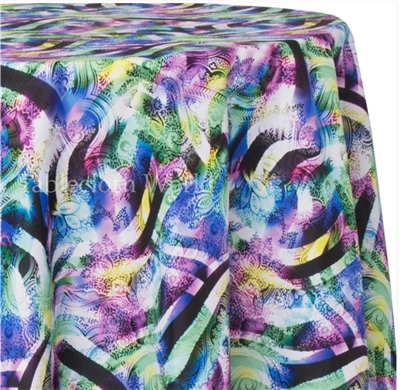 Paisley Abstract Print Tablecloths
