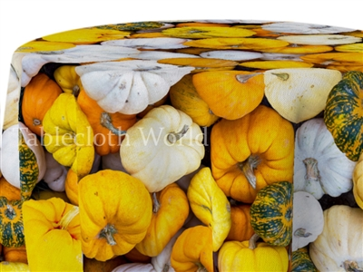 Pumpkin Paradise Print Tablecloths