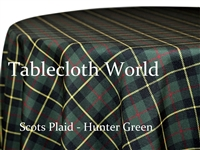 Scots Plaid Hunter Tablecloths
