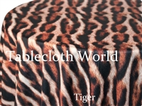 Tiger Print Tablecloths