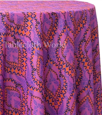 Zaragoza Custom Print Tablecloths