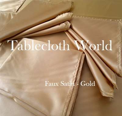 Napkins Faux Satin