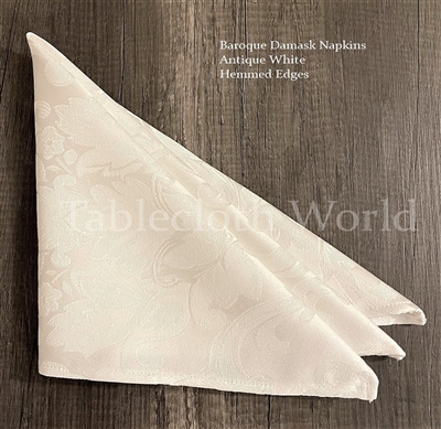 Napkins Baroque Damask
