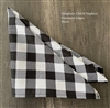 Napkins Gingham Check