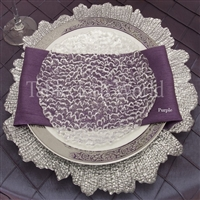 Napkins Two Sided Satin Crinkle